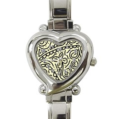 Artistic abstraction Heart Italian Charm Watch