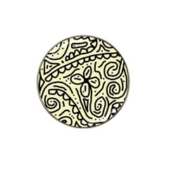 Artistic abstraction Hat Clip Ball Marker