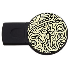 Artistic abstraction USB Flash Drive Round (4 GB)