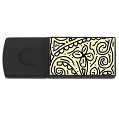 Artistic abstraction USB Flash Drive Rectangular (4 GB)