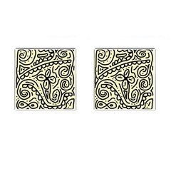 Artistic abstraction Cufflinks (Square)