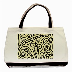Artistic abstraction Basic Tote Bag