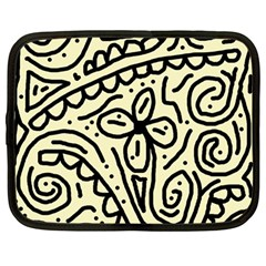 Artistic abstraction Netbook Case (Large)
