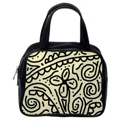 Artistic abstraction Classic Handbags (One Side)