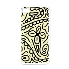 Artistic abstraction Apple iPhone 4 Case (White)