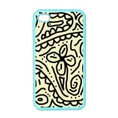 Artistic abstraction Apple iPhone 4 Case (Color)