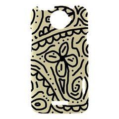 Artistic abstraction HTC One X Hardshell Case