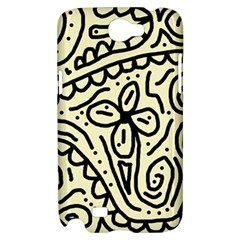Artistic abstraction Samsung Galaxy Note 2 Hardshell Case