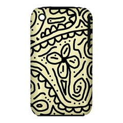 Artistic abstraction Apple iPhone 3G/3GS Hardshell Case (PC+Silicone)