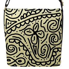 Artistic abstraction Flap Messenger Bag (S)