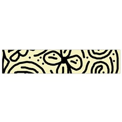 Artistic abstraction Flano Scarf (Small)
