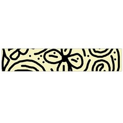 Artistic abstraction Flano Scarf (Large)