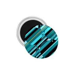 Blue abstraction 1.75  Magnets