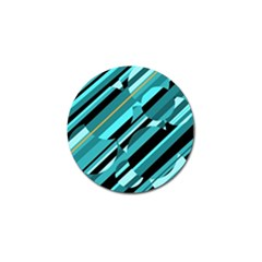 Blue abstraction Golf Ball Marker (4 pack)