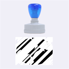 Blue abstraction Rubber Oval Stamps