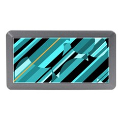 Blue abstraction Memory Card Reader (Mini)