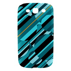 Blue abstraction Samsung Galaxy S III Hardshell Case