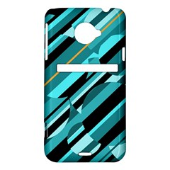 Blue abstraction HTC Evo 4G LTE Hardshell Case