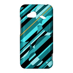 Blue abstraction HTC Droid Incredible 4G LTE Hardshell Case