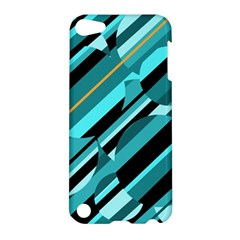 Blue abstraction Apple iPod Touch 5 Hardshell Case