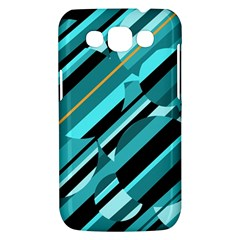 Blue abstraction Samsung Galaxy Win I8550 Hardshell Case