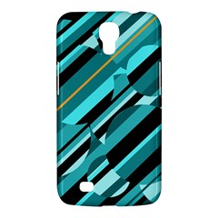 Blue abstraction Samsung Galaxy Mega 6.3  I9200 Hardshell Case