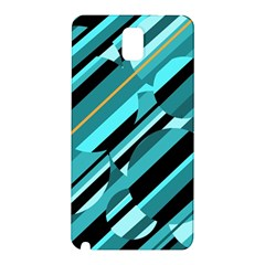 Blue abstraction Samsung Galaxy Note 3 N9005 Hardshell Back Case