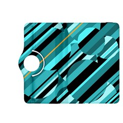 Blue abstraction Kindle Fire HDX 8.9  Flip 360 Case
