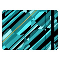 Blue abstraction Samsung Galaxy Tab Pro 12.2  Flip Case