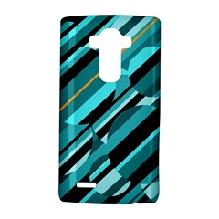 Blue abstraction LG G4 Hardshell Case