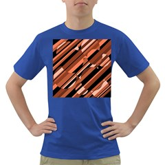 Orange pattern Dark T-Shirt