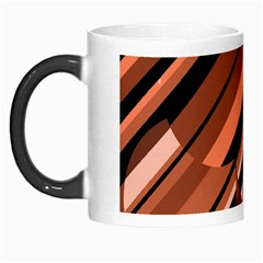 Orange Pattern Morph Mugs