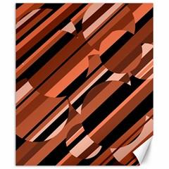 Orange pattern Canvas 20  x 24