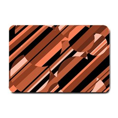 Orange pattern Small Doormat