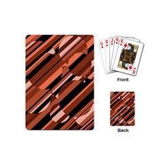 Orange pattern Playing Cards (Mini)