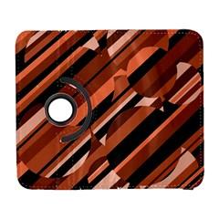 Orange pattern Samsung Galaxy S  III Flip 360 Case