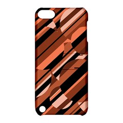 Orange pattern Apple iPod Touch 5 Hardshell Case with Stand