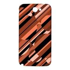 Orange pattern Samsung Note 2 N7100 Hardshell Back Case
