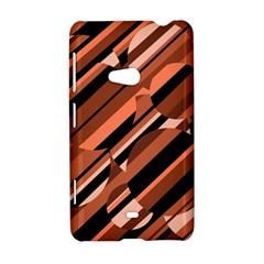 Orange pattern Nokia Lumia 625