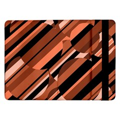Orange pattern Samsung Galaxy Tab Pro 12.2  Flip Case