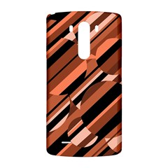 Orange pattern LG G3 Back Case
