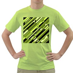 Green pattern Green T-Shirt