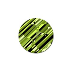 Green pattern Golf Ball Marker (10 pack)