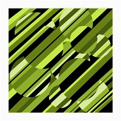 Green pattern Medium Glasses Cloth