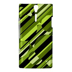 Green pattern Sony Xperia S