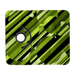 Green pattern Samsung Galaxy S  III Flip 360 Case