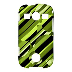 Green pattern Samsung Galaxy S7710 Xcover 2 Hardshell Case