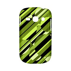 Green pattern Samsung Galaxy S6810 Hardshell Case
