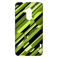 Green pattern HTC One Max (T6) Hardshell Case