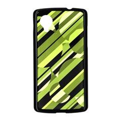 Green pattern Nexus 5 Case (Black)